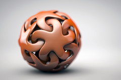 strella sphere (Philippe Put) Tags: sphere magic wizard super power 3d c4d star magical orange red weird fantasy imagination creativity creation round ball woven strangle light studio philippeput free download wallpaper future art connect connected network corporate