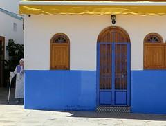 Casa azul en Assilah.Marruecos- (lameato feliz) Tags: assilah marruecos casa azul