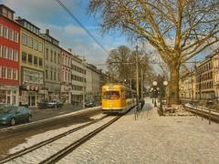 Straenbahn der SWK Krefeld (Haeppi) Tags: tram krefeld streetcar swk dwag strasenbahn