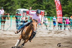Gymkhana Falardeau21463 (Glenn Fullum) Tags: horse nikon barrels sigma full frame chevaux baril gymkhana 70200f28 d610 sigma70200 falardeau