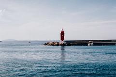 (Berill Sándor Photography) Tags: sea summer film 35mm photography boat photo july croatia analogue krk 2015 analóg