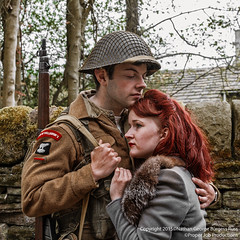 Sorrowful Lovers (Proper Job Productions) Tags: portrait west festival army duke lovers riding 1940s british britisharmy hdr wellingtons haworth regiment sorrowful westriding dukeofwellingtonsregiment 1940sfestival haworth1940sfestival dukeofwellingtonsregimentwestriding sorrowfullovers