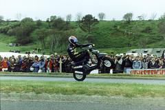 Gary Rothwell Yamaha Beewiz (Betapix) Tags: liverpool gary suzuki tt rider isleofman stunt stunts gsxr rothwell iom scouser wheelies stuntrider stoppies garyrothwell