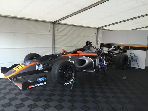 Ameya Vaidyanathan's car in MSA Formula at Rockingham, September 2015