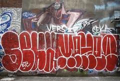 Vancouver Graffiti (cocabeenslinky) Tags: street city urban streetart canada west art vancouver lumix photography graffiti downtown artist photos august columbia panasonic coastal british graff seaport artiste municipality 2015 seka dmcg6 cocabeenslinky