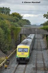 4002 passes Kildare, 18/9/15 (hurricanemk1c) Tags: irish train rail railway trains railways caf irishrail intercity kildare 4002 2015 mark4 iarnród éireann iarnródéireann 1500heustoncork