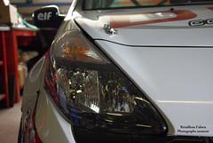 Clio 3 Sport (Fabien 85) Tags: auto sport automobile garage clio voiture course renault tuning phare capot vitesse