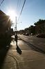 Harbord Light and Shadows (Georgie_grrl) Tags: light sun toronto ontario shadows pedestrian flare pentaxk1000 harbordstreet rikenon12828mm