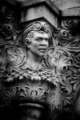 New York State Capitol ~ Sculpture of An African American  ~ Exterior