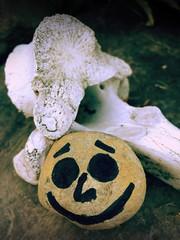 Day 293 of 365 - Skeleton Smile (sluggoman) Tags: skeleton day293 365days smileproject 365daysproject smilestone httpbitlysmile2015