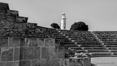 Paphos archeological park (travelmemo.com) Tags: lighthouse amphitheatre cyprus cy archeologicalpark paphos httptravelmemocomp10325