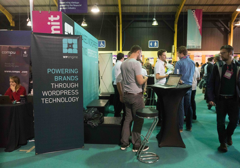 WPENGINE AT THE WEB SUMMIT IN DUBLIN [ DAY 3 - 2015]--109938