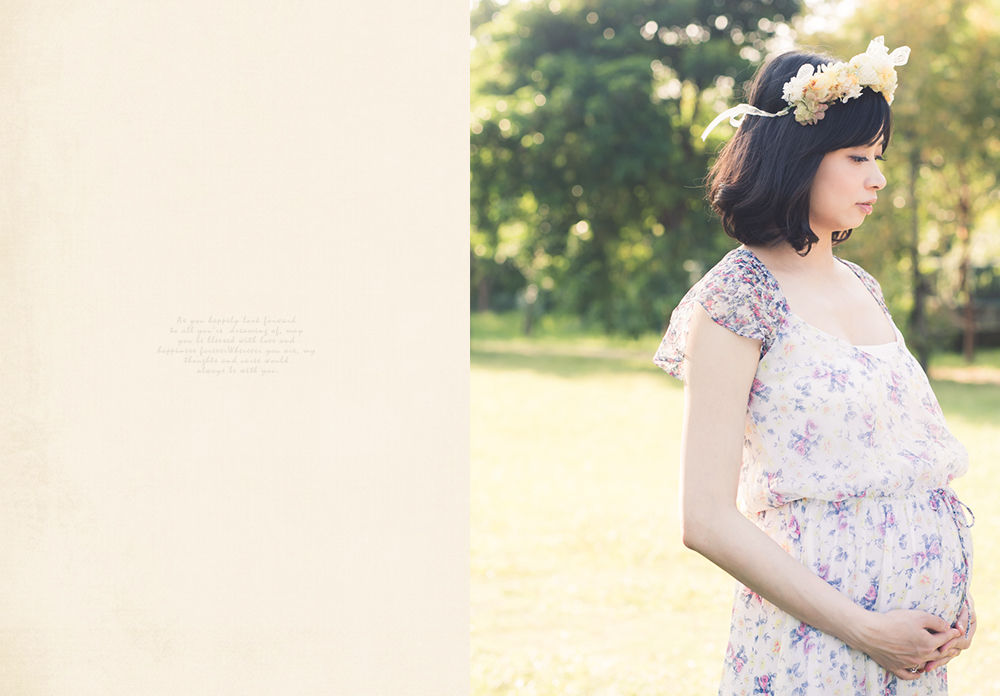 女攝影師孕婦寫真照