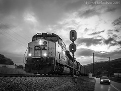 Threatening the CRR (Hunter Richardson) Tags: canon tennessee duke coal ge erwin csx crr csxt es44ac clinchfield gees44ac friendsofcoal