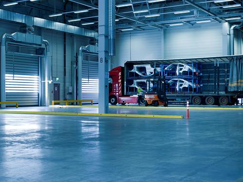Швидкісні ворота в автомобільній промисловості. Высокоскоростные ворота. Hi speed doors. Efaflex.