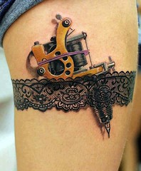 Top 6 Coolest 3D Tattoos (top6lists) Tags: cool stunning realistic astounding exceptional tatoogun carvedleg 3dtattoos