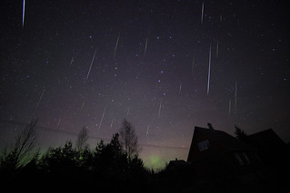 Geminids meteor shower 2015 II