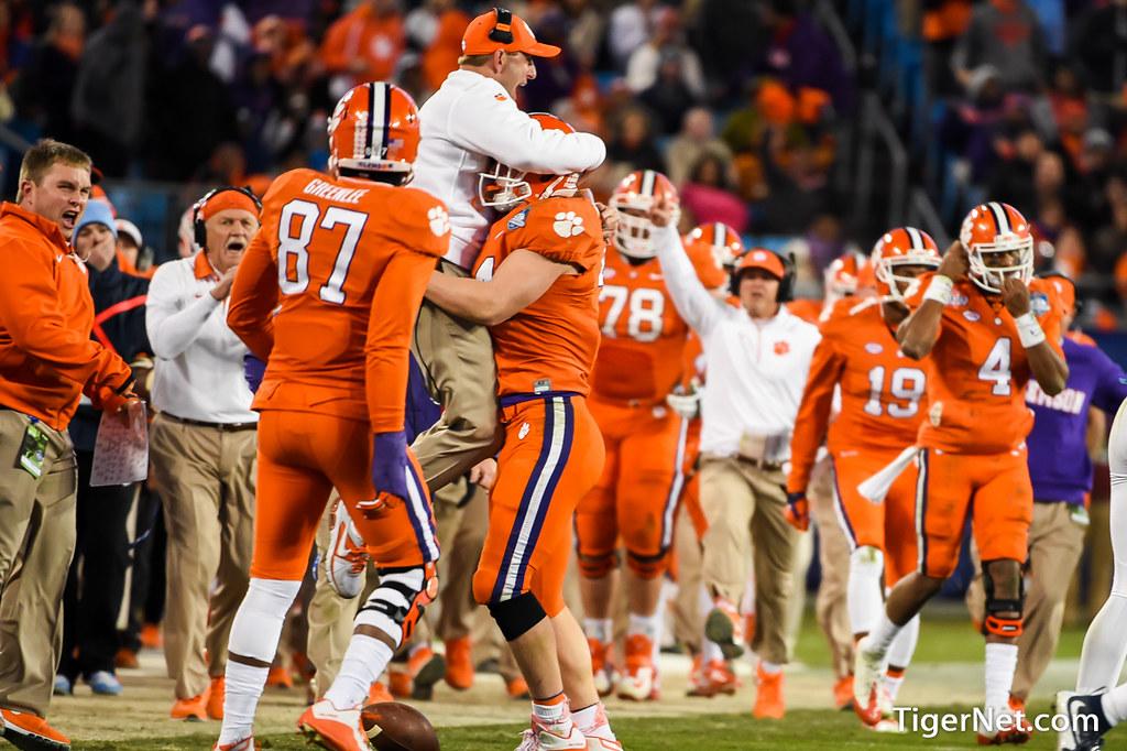 Clemson Photos: Dabo  Swinney, Garrett  Williams, 2015, Football