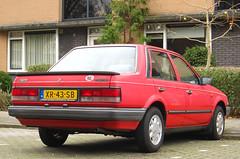 1989 Mazda 323 sedan 1.3 LX Finish (rvandermaar) Tags: 1989 mazda 323 sedan 13 finish familia mazdafamilia mazda323 sidecode4 xr43sb rvdm