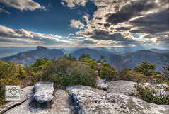 Linville Gorge Light Show (cathyandersonphoto) Tags: mountains landscapes wilderness blueridgemountains linvillegorge blueridgeparkway professionalphotographer nationalgeographic thegreatoutdoors appalachianmountains naturephotography weatherchannel brp naturephotos wildernessarea landscapephotography ncmountains neverstopexploring naturephotographer linvilleriver keepitwild hawksbillmountain landscapephotographer landscapephoto letsgosomewhere wildernessphotography ourstatemagazine exploremore letsexplore wildernessphotographer wildernessphotos natureaddict themountainiscalling 828isgreat getoutstayout theoutbound cathyandersonphotography natgeolandscape landscapephotomag explorecarolina