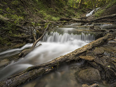 Waterfalls (Michael Zahra) Tags: canada ontario waterfalls nature outdoors water green grass trees spring summer fall autumn motion blur river 645z pentax ricoh