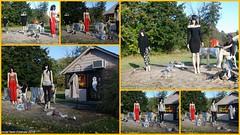 2016.10.23; The Walking Dead Manequins (FOTOGRAFIA.Nelo.Esteves) Tags: 2016 neloesteves nikon d80 collage usa us nj newjersey sussexcounty ogdensburg boutique thewalkingdeadmanequins halloween decorations october fall autumn spooky haunted