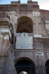 IMG_6721 (Eric.Burniche) Tags: colosseum flavianamphitheatre colosseo anfiteatroflavio roman rome roma romaitaly romeitaly italy italia ancient ancientrome travel ruins