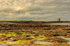 O'Dowd's Castle... (Pat_J1) Tags: easky wicklow flowers clouds wildanlantic flower flickr sligo algae sky greystonescameraclub rocks odowdscastle