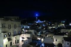 Matera by night 2 (noe.giovanni) Tags: canon eos1200d notte night matera basilicata italia italy allaperto luna moon moonlight