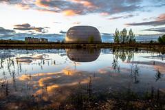 Toroidal landscape (Juaberna) Tags: toroidal landscape architecture arquitectura paisaje madrid spain espaa atardecer sunset