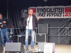 PHILIPPE POUTOU (marsupilami92) Tags: frankreich france hautsdefrance somme 80 amiens goodyear syndicat cgt solidaires soutien manifestation justice appel philippepoutou npa