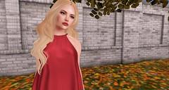 Red-y for Fall (KimberlySL) Tags: secondlife n21 tres blah buzzeri meshhead meshbody maitreya theepiphany boldbeauty atelierpepe