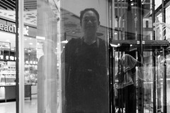 Reflection (kiawui) Tags: eastpoint blackwhite streetphotography street