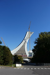 Tour de Montral @ Olympic Stadium @ Montral (*_*) Tags: montreal mtl canada quebec northamerica 2016 autumn fall automne october city sunny hochelaga maisonneuve afternoon olympic stadium stade olympique rogertaillibert architecture