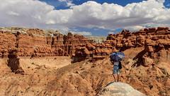 Goblin Valley SP (adzamba) Tags: 2016 greenriver utah unitedstates usa arenaria formzionerocciosa goblinvalleyrd ombrello rocksformation sandstone umbrella