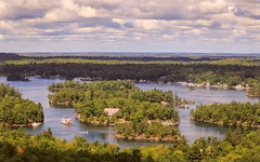 1000 Islands View (Note-ables by Lynn) Tags: outdoor 1000islands stlawrenceriver cottages gananoque ontario landscape