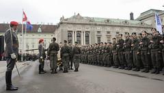 An der Insignie (Bundesheer.Fotos) Tags: bundesheer austrian army garde nft2016