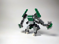 M.K.008 Redux - Mark I (Jay Biquadrate) Tags: mf0 mfz microscale moc mobileframezero mech mecha lego