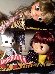 Blythe-a-Day November#30: Wishes for the Future: The Twins Look Forward