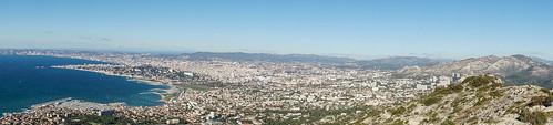 Panoramique sur Marseille
