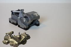 Halo Elephant (my name is schimmi) Tags: lego halo micro elephant unsc marines halowars halo3