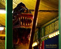 Zmaj / Dragon (mardukkk) Tags: dragon terrible danger arcade luna amusment te teeth colors still
