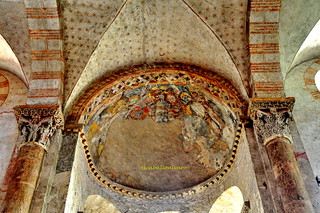 486 - Bóveda Policromada - Basílica Saint Sernin - Toulouse (France).