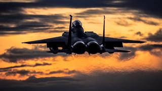 Strike Eagle Sunset
