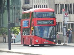 Buses in London (8th August 2016) (Tobytrainspotting13) Tags: tobytrainspotting13 london waterloo bridge monday 8th august 2016 arriva new routemaster lt325 ltz 1325 ltz1325