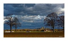 KEVELAER - Stadtrand (Babaou) Tags: deutschland germany kevelaer niederrhein kreiskleve nrw himmel wolken industriekulisse landwirtschaft dxo sturm