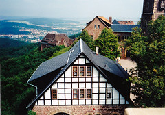 Kilts Wartburg vrbl (ossian71) Tags: nmetorszg germany deutschland eisenach wartburg tringia thringen plet building memlk sightseeing vr castle