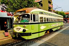 Flower Power Street Car (k4eyv) Tags: streetcar sanfrancisco sandiego california sonyrx1r