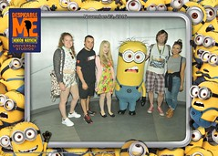 Florida 2016 (Elysia in Wonderland) Tags: universal studios despicable me minion mayhem character meet greet yellow orlando florida holiday 2016 elysia becca clinton amy lucy pete