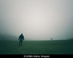 Photo accepted by Stockimo (vanya.bovajo) Tags: stockimo iphonegraphy iphone man fog foggy weather mist alone lost no hope disappointed unhappy